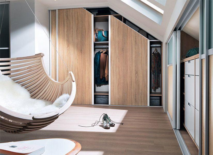Rangement Ambiance Mezzanine Dolce Vita Cocon Graphique Meuble Sous Comble,  Rangement Sous Pente, Placard