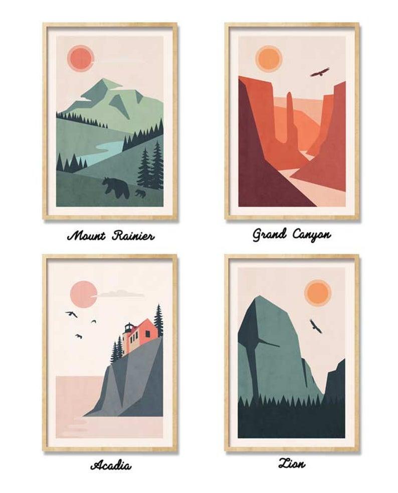 Park Art|My WordPress Blog_42+ National Park Wall Art Set  Gif