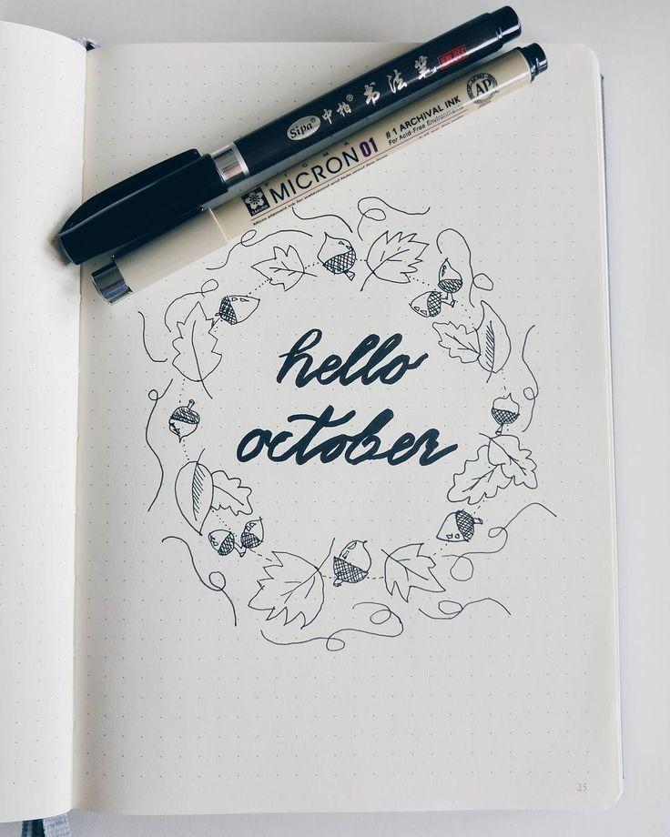 Hello October stock vector art 842196584 | iStock