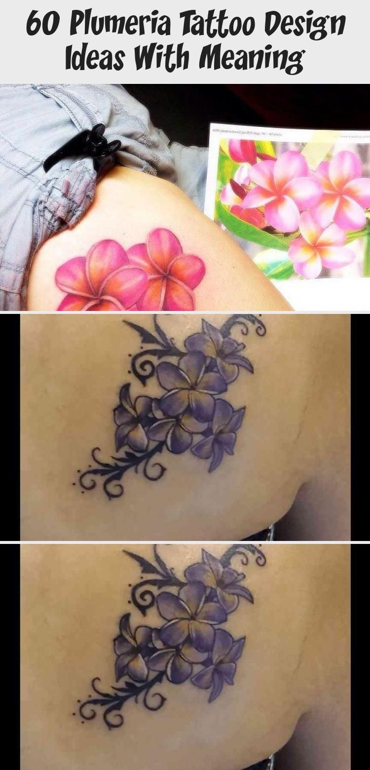 60 Plumeria Tattoo Design Ideas With Meaning Tattoos And Body Art In 2020 Plumeria Tattoo Flower Tattoo Designs Tattoos With Meaning