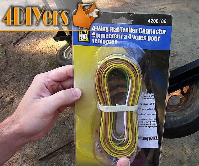 How To Wire Trailer Lights Utility Trailer Lights Wire Installation