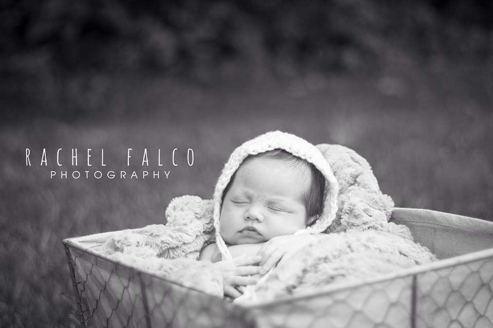 Outdoor newborn session.