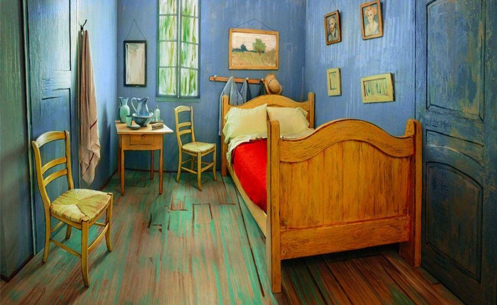 Dormire nella camera da letto di Van Gogh | Travel USA | Pinterest ...