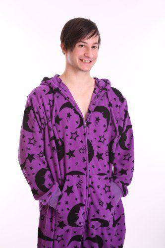871929f6ee funzee offer the best Funzee Wizard Design Fleece Adult Onesie Non Footed  Pajamas