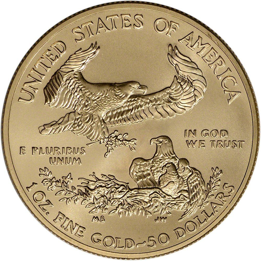 2015 American Gold Eagle 1 Oz 50 Bu U S Mint Obverse Please Go To Www Coincollectorguides Com To Press On Link Thank Gold Bullion Coins Coins Gold Coins
