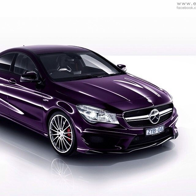 A Very Unique Color Choice For The 2014 CLA... Can't Say I