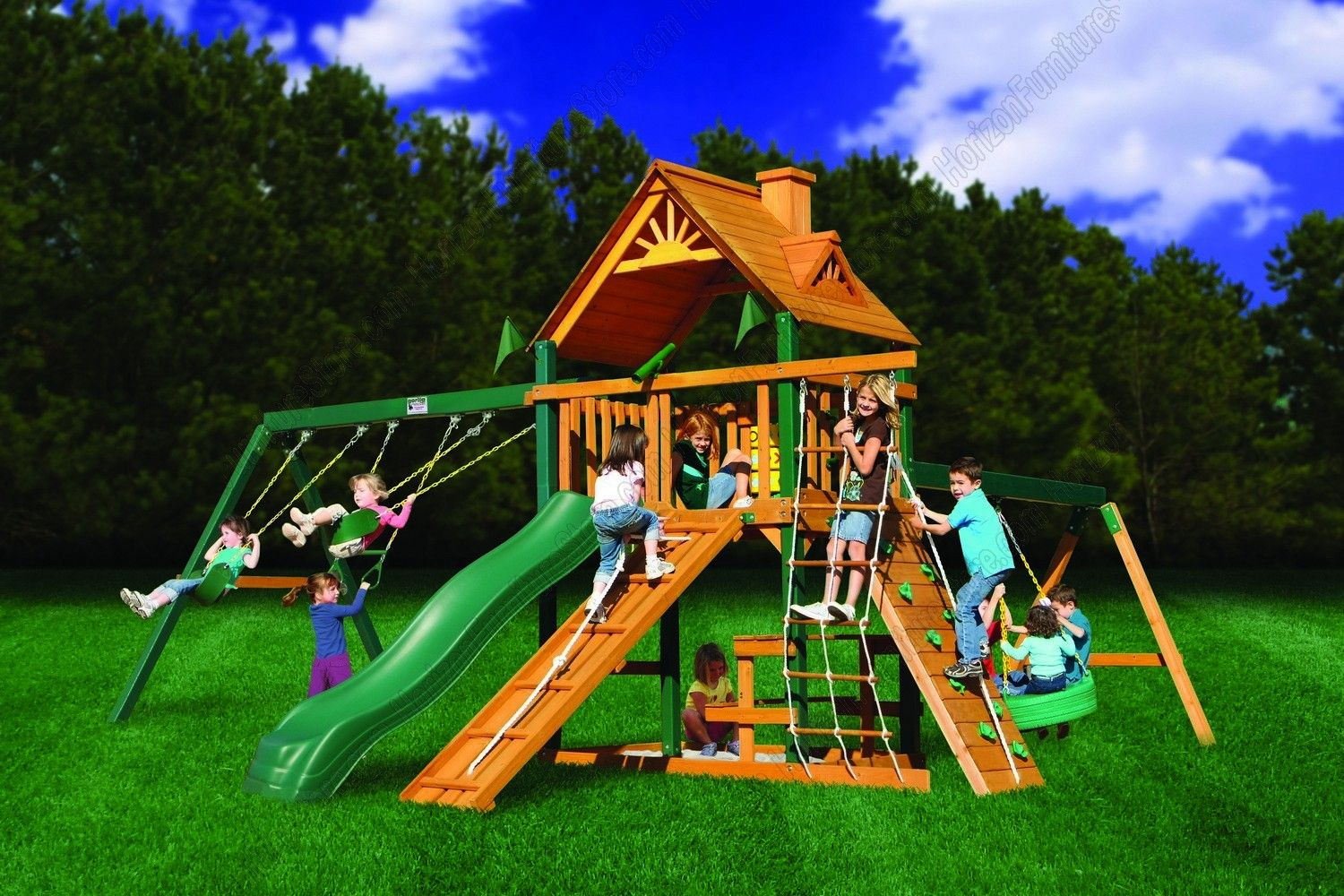 Gorilla Swing Set Clearance | Gorilla Playsets Frontier ...