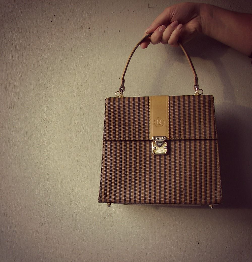 Fendi Handbags Leather