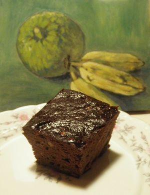 Ulu Chocolate Cake Gluten Free Vegan Breadfruit Recipes Food Recipes