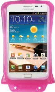 Amazon.com: DiCAPac WP-C2 Underwater Housing(WaterProof) Case - Pink for Samsung Galaxy Note 1 & 2 and Galaxy S3: GPS & Navigation