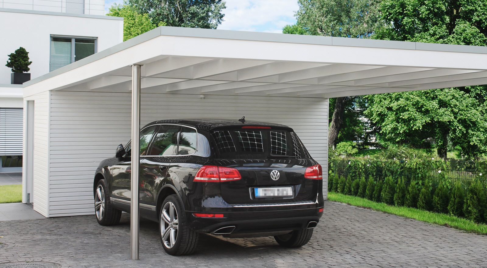 ein carport nach ma ist g nstig carport bauen ideen pinterest carports aus holz holz. Black Bedroom Furniture Sets. Home Design Ideas