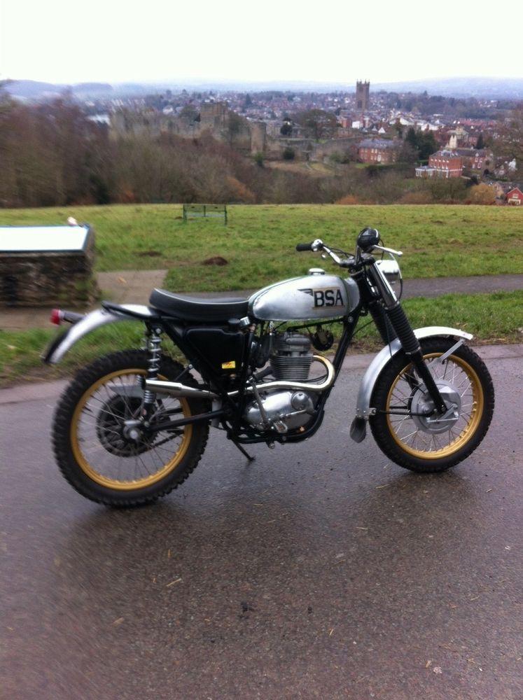 eBay: BSA B25 Starfire Green Laner Motorcycle 1969 | BIKES