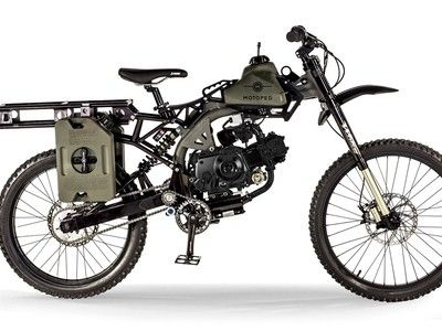 I So Want The Motoped Survival Bike Motorcycle Camping Gear Bicycle Motorcycle