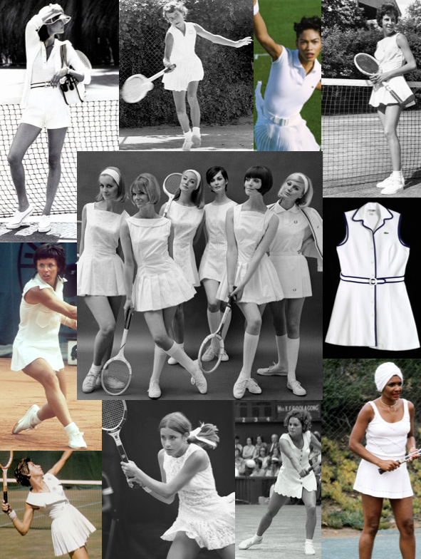 The Evolution Of Fashion In Women S Tennis Style Of Sorts Tennis Outfit Women Tennis Clothes Fashion