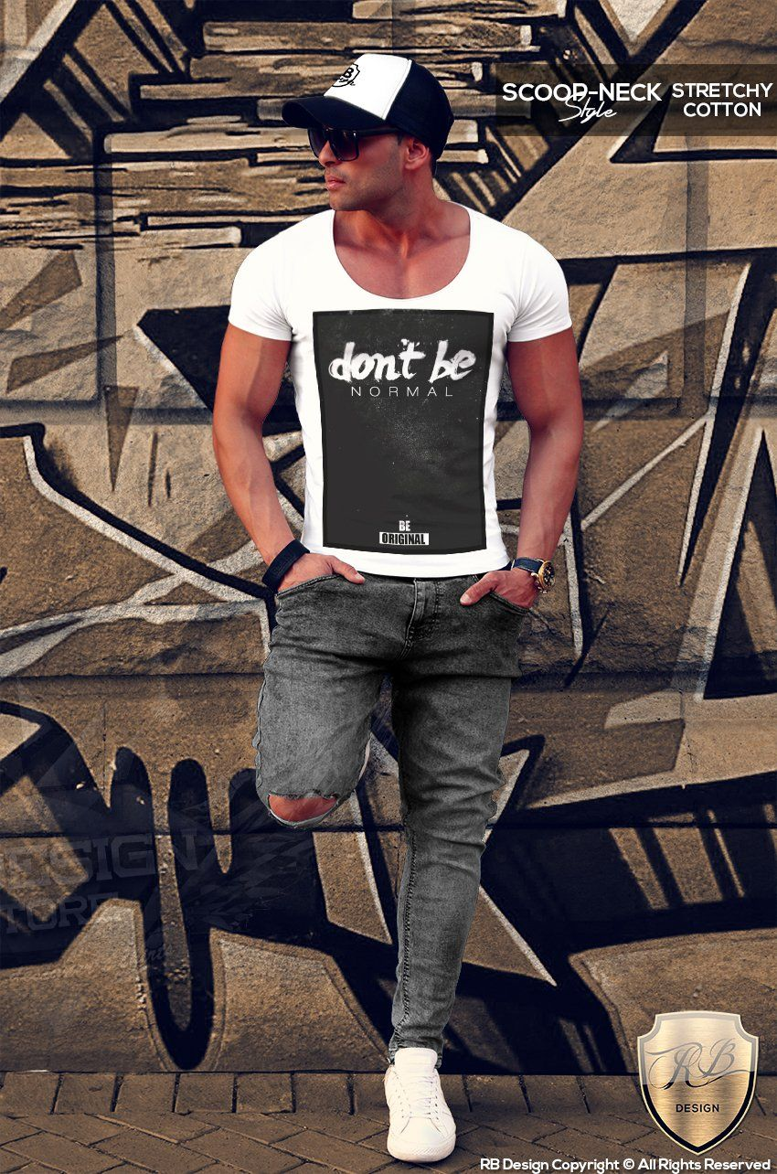 dcc1a0a5 Don't be Normal Be Original Men's T-shirt MD132 in 2019 | Men ...
