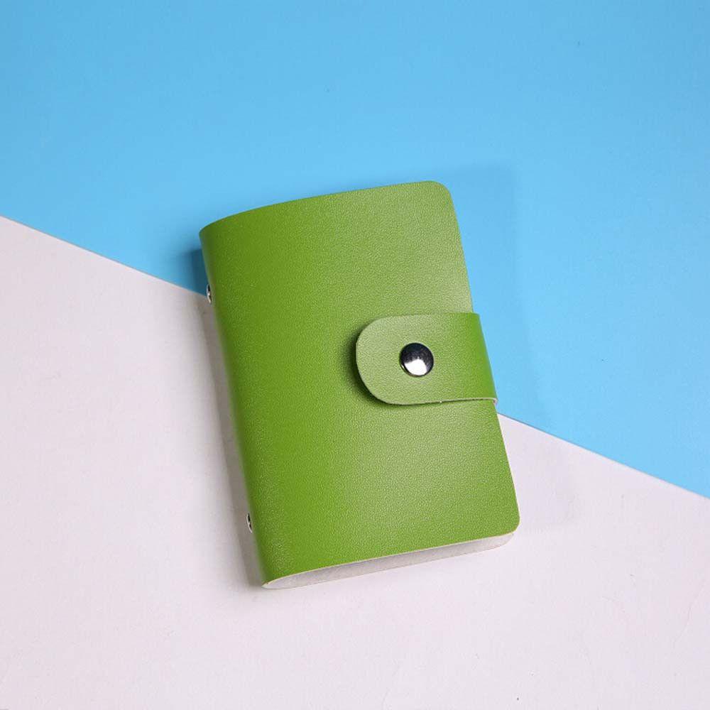 2016 Mini Portafoglio Uomo porta Carte di Credito Cassa di Cuoio Delle Donne Supporto di carta Del Raccoglitore Biglietto Da Visita Raccoglitori del Sacchetto di Caso 12 Colori disponibile
