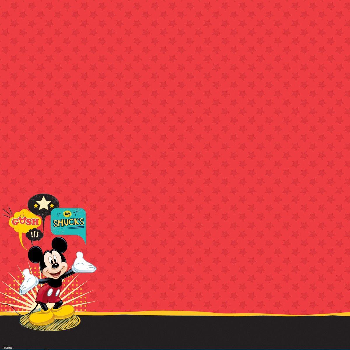 Free Printable Disney Scrapbook Paper