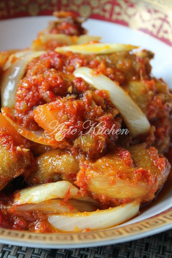 Azie Kitchen Ayam Masak Berlada Yang Serius Sedap Spicy Recipes Malay Food Asian Recipes