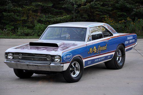 1968 Dodge Hemi Dart 426 2x4bbl Hemi V8 Hd 4speed Dana 60