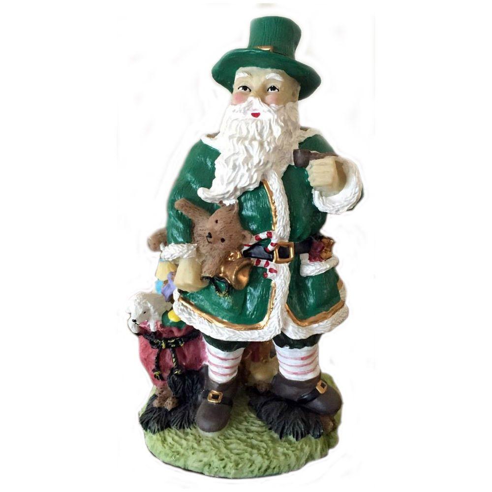 International Santa Claus Figurine Father Christmas Irish Ireland ...