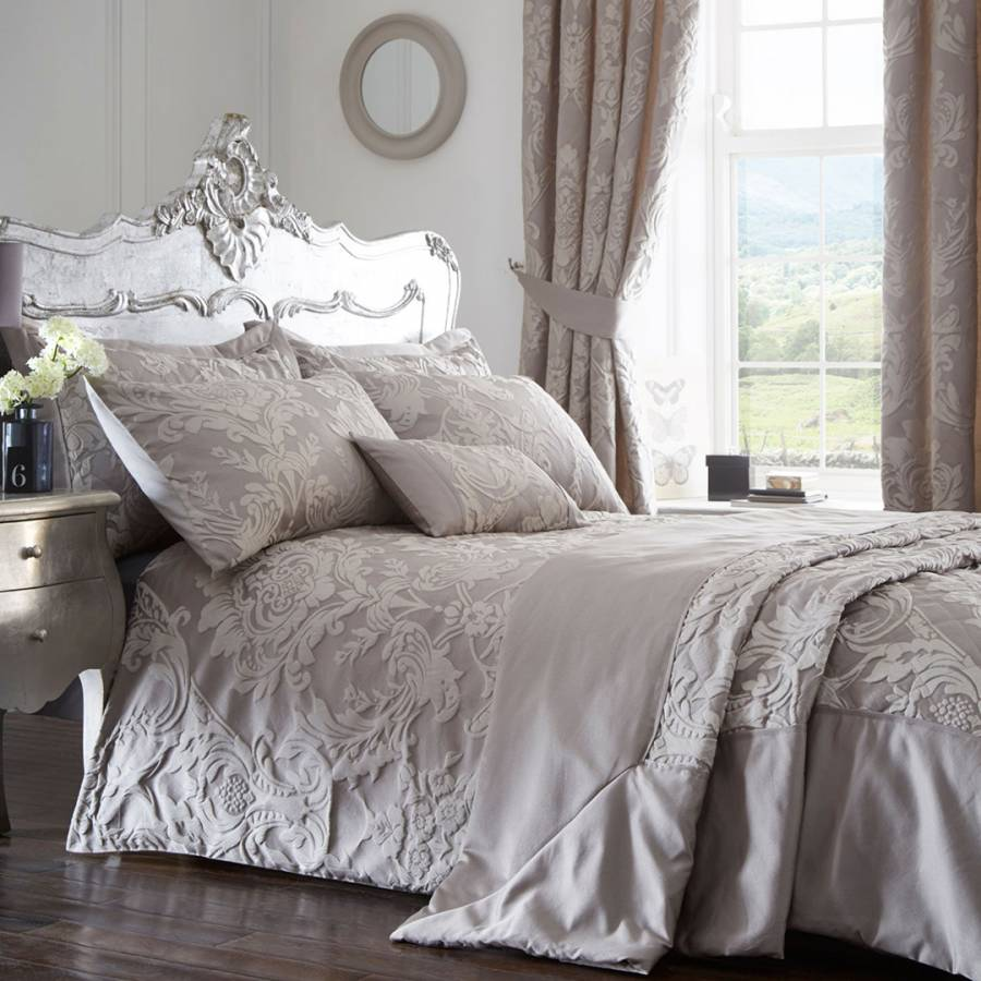 Duvet Cover with Pillowcase Quilt Cover Bedding Set Jacquard Single Double King