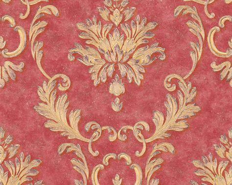 rot #chic #goldenesdesign, kollektion \ - wohnzimmer tapeten braun beige