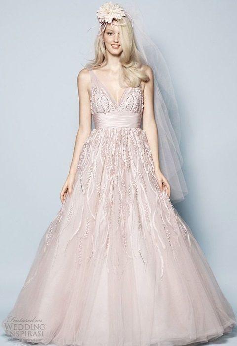 48 Pastel Wedding Gowns Hywedd