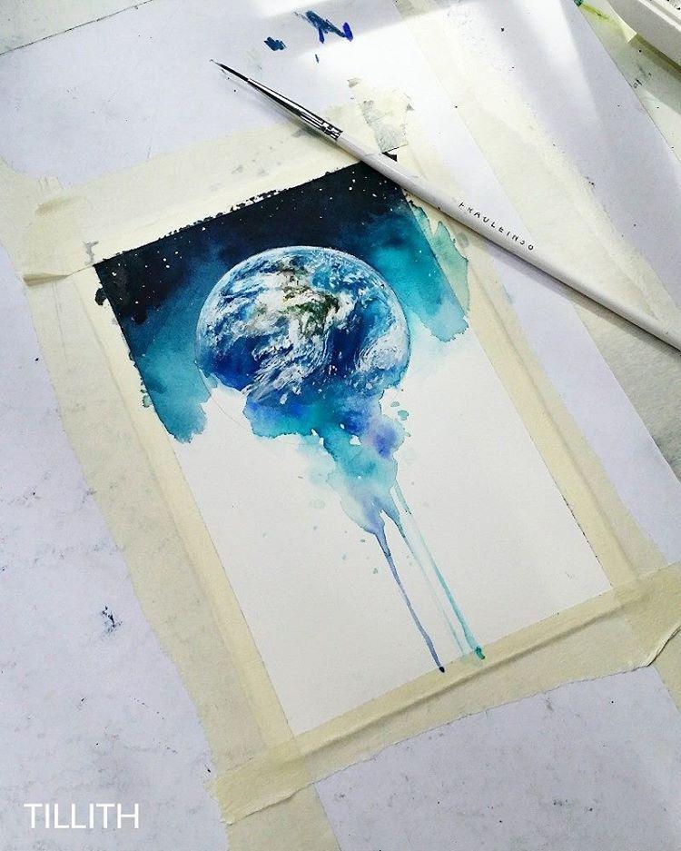 Pin Von Sally Graham Auf Artsy Mit Bildern Wasserfarben Bilder