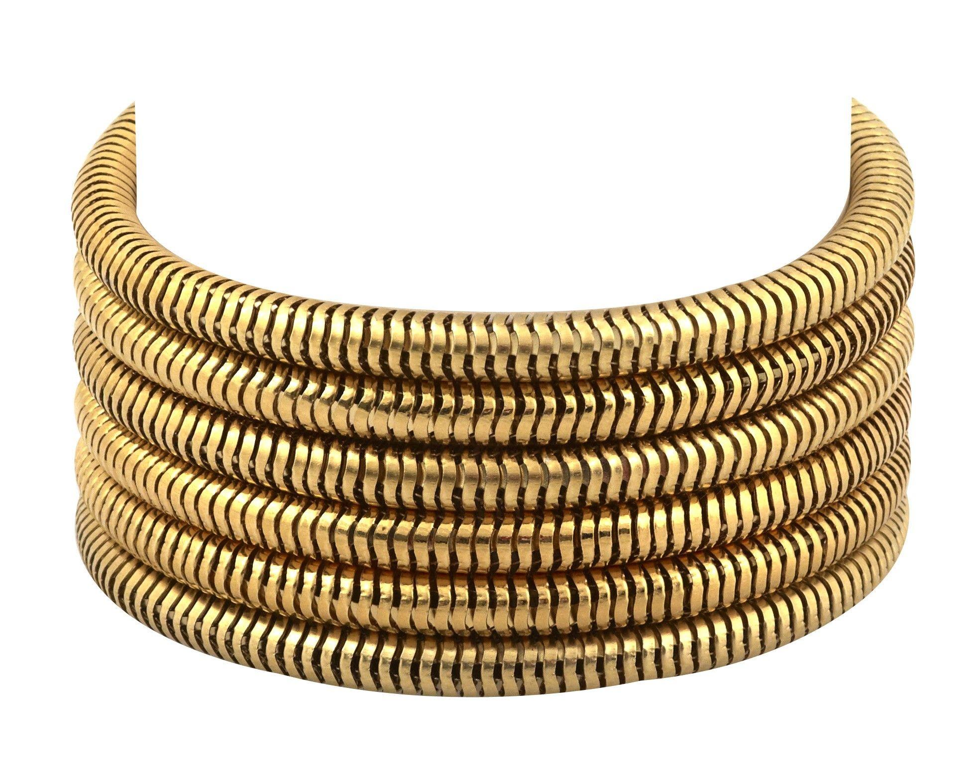 Snake Chain Bangle - Shop | Glamhouse