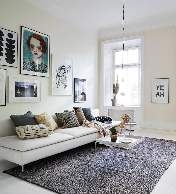 Small Apartment Bedroom West Elm Bedroom Ideas Bedroom Design Houzz Lighting Ideas For Bedroom: A Stylish Mixed Style Living Room With The SÖDERHAMN Sofa
