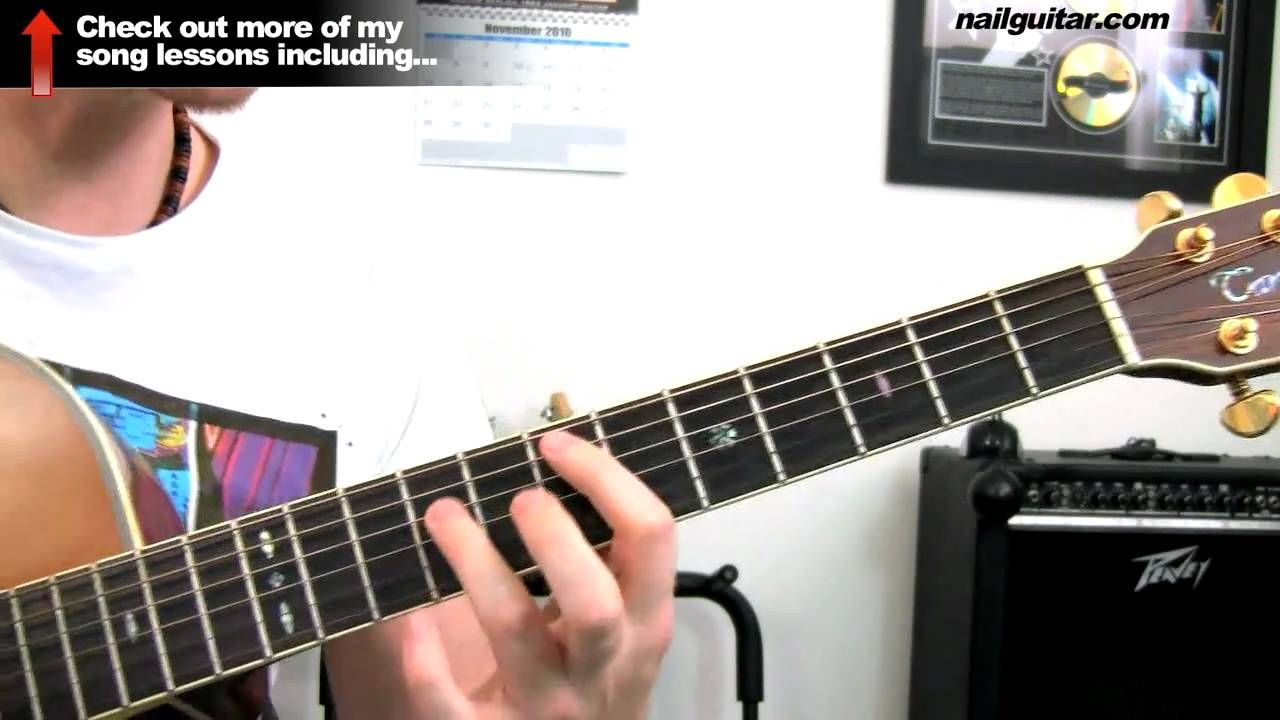 How to play 'Sing' by My Chemical Romance - Guitar Tutorial - How To Pla...