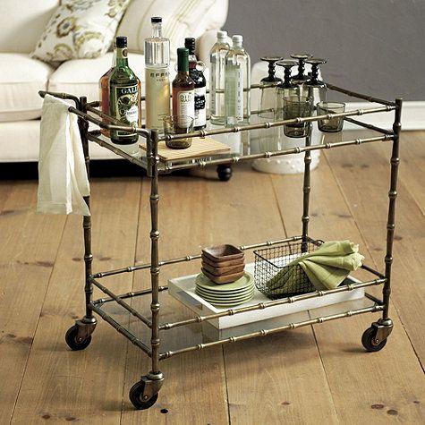 Jill Bar Cart by Ballard Designs  I  ballarddesigns.com