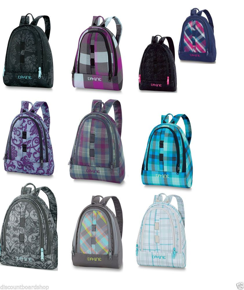 f838b62e1595 Dakine COSMO 6.5L Zipper Compartments Organizer Pockets Backpack Purse Bag   DAKINE  Backpack