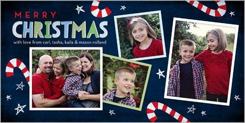 Sweet Christmas Christmas Card Photo cards