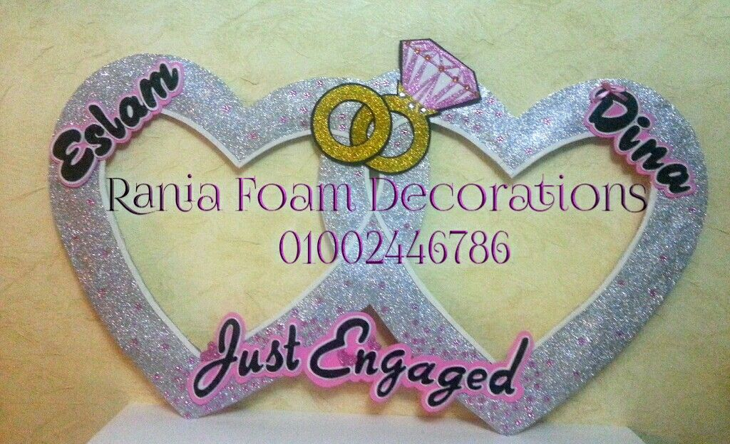 Frame party | Rania Foam Decorations | Pinterest | Frames and Parties