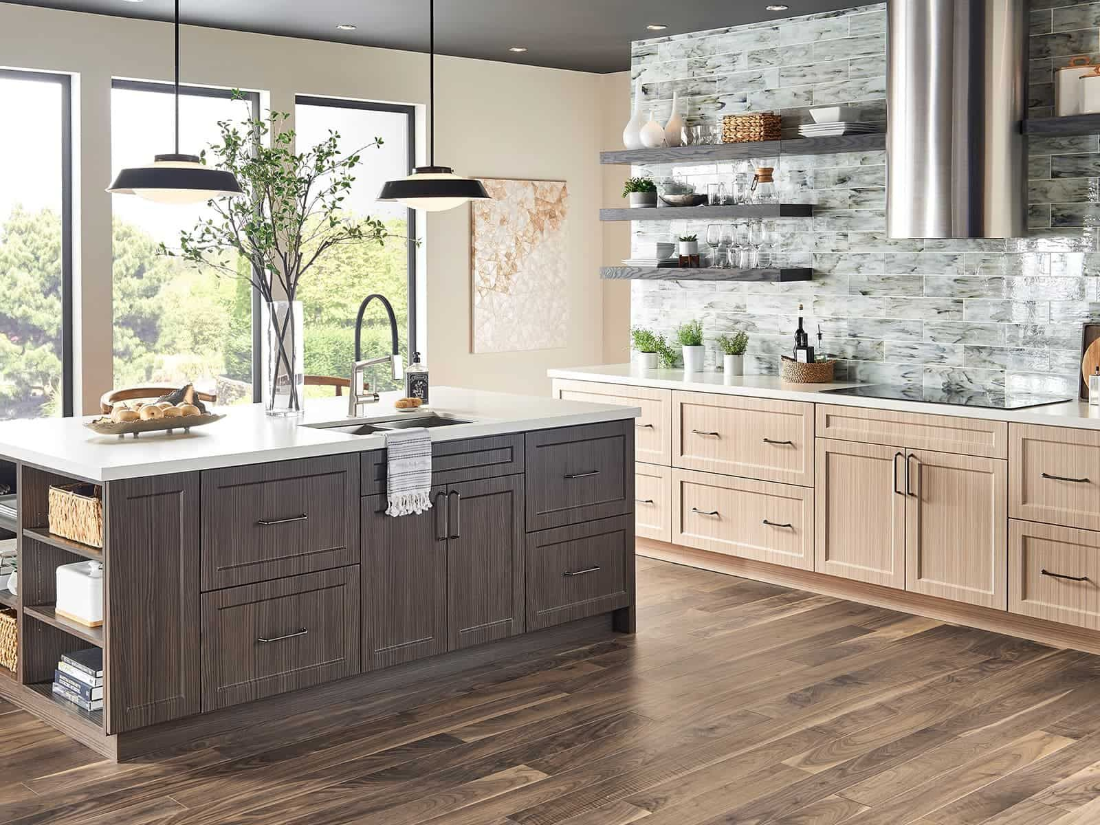 Kitchens Without Upper Cabinets   Bertch Cabinet ...
