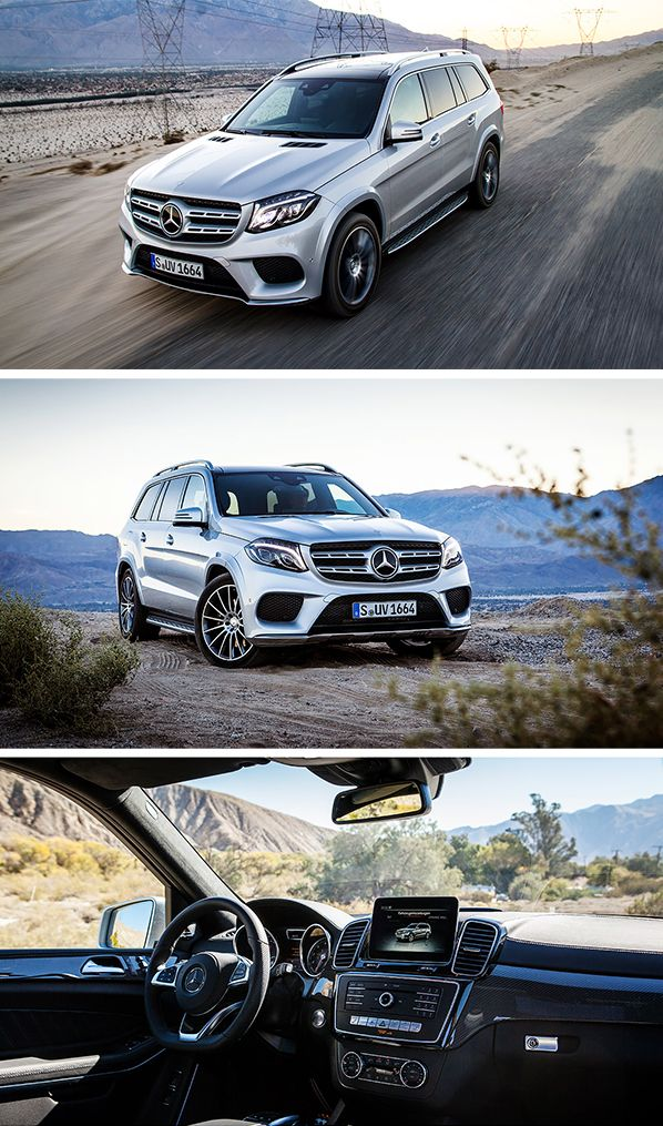 It's the S-Class among SUVs: jump in, buckle up, and get ready for a first-class road trip with the Mercedes-Benz GLS!