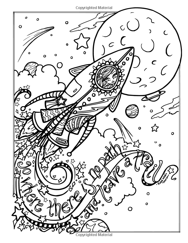 journey girl coloring pages - photo#29