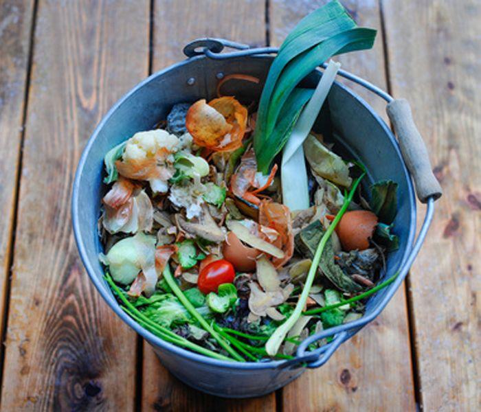 Kompost im Eimer