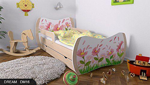 kinderbett birne mit matratze bettkasten und lattenrost. Black Bedroom Furniture Sets. Home Design Ideas