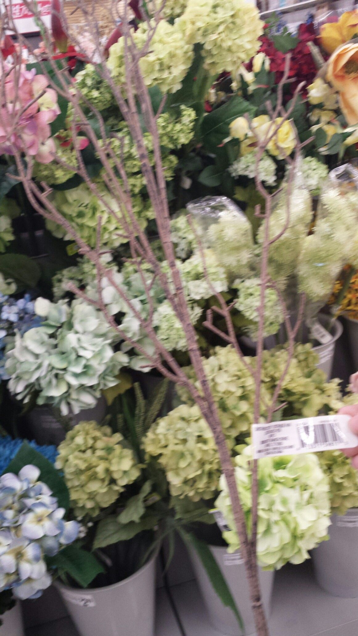 Stick Accent In The Fake Flowers At Michael S Craft Store In Charlottesville Virginia 4 99 Each Michaels Crafts Store Fake Flowers Michaels Craft