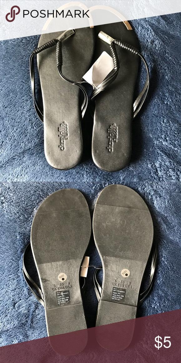 fa4cdbe682ad brand new black sandals black sandals from charlotte russe brand new Charlotte  Russe Shoes Sandals