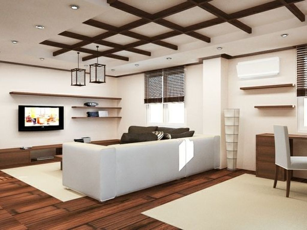 42 Elegant Interior Design Ideas For Living Room With Low Budget
