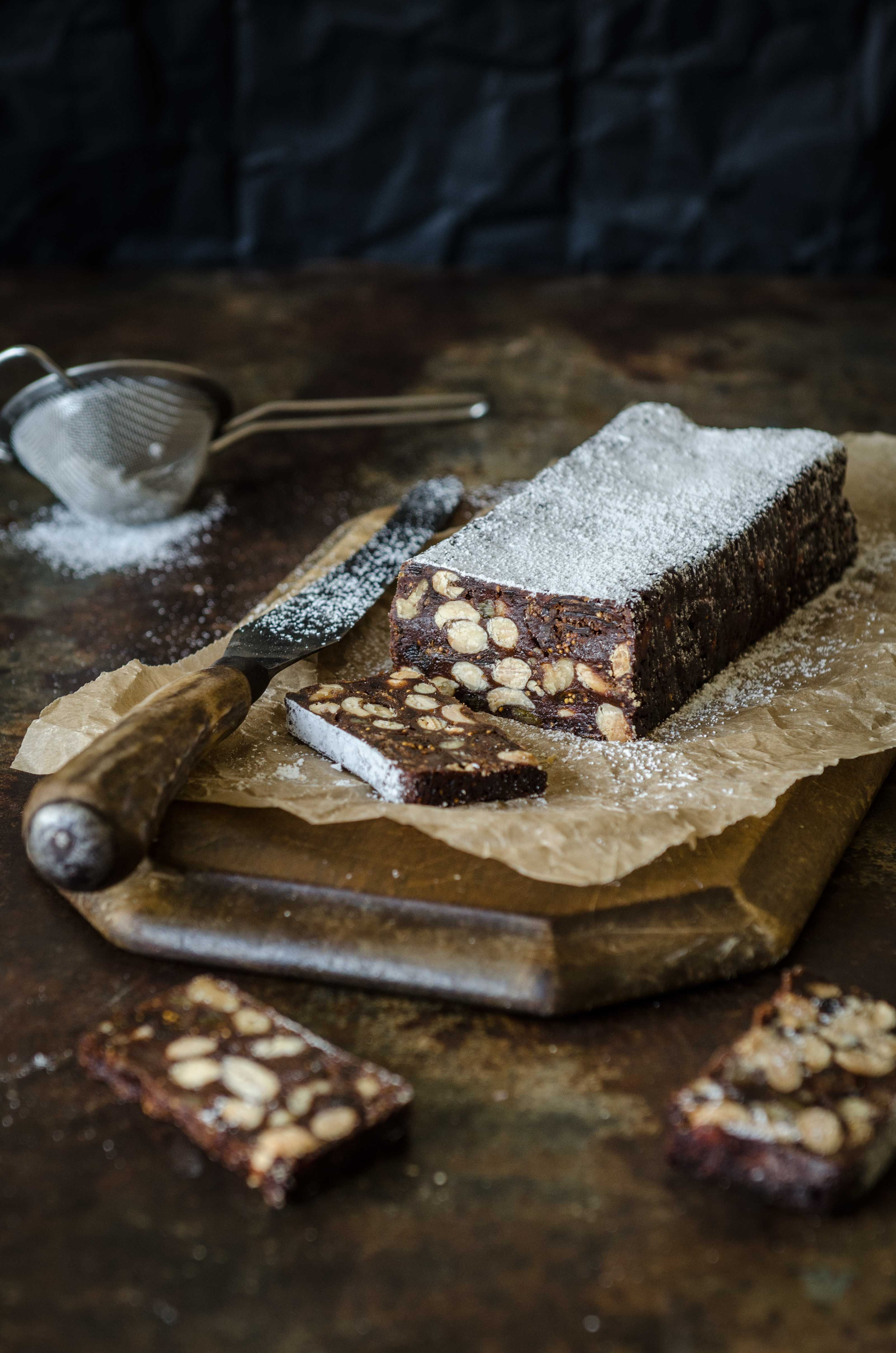This recipe for Panforte al Cioccolate (Chocolate Panforte) is perfect served with coffee and is a great Christmas gift!