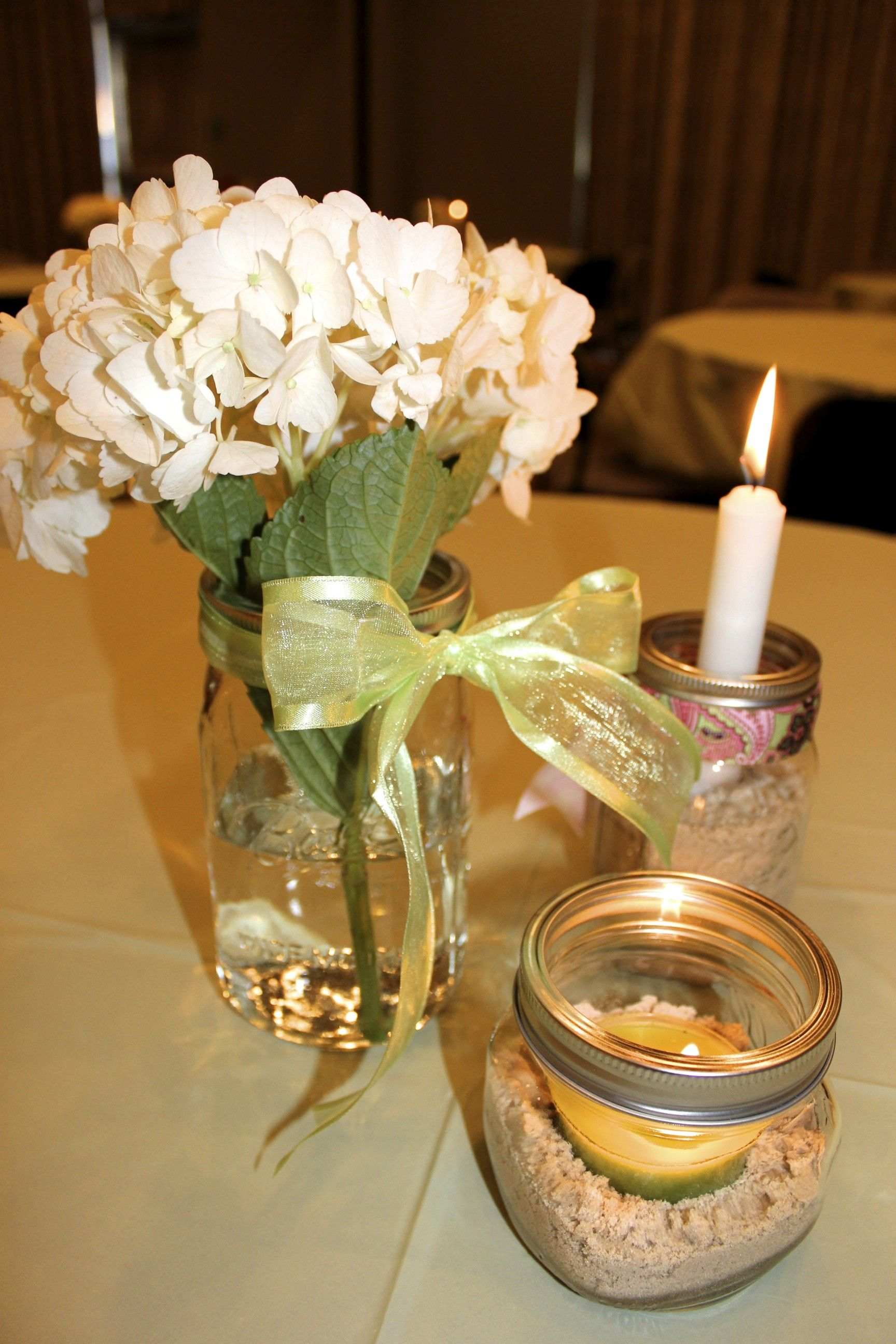 simple elegant party decorations for adults Centerpieces I made