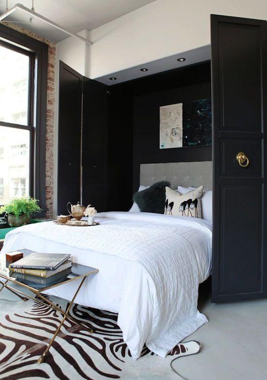 Love the black doors!