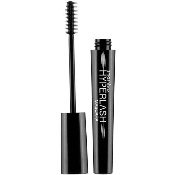Smashbox Hyperlash Mascara (75 BRL) ❤ liked on Polyvore featuring beauty products, makeup, eye makeup, mascara, beauty, eyes, blackout, smashbox eye makeup, lengthening mascara and smashbox mascara