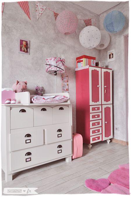 la chambre de lily rose le coin langer ranger filles vintage chambre b b fille et vide. Black Bedroom Furniture Sets. Home Design Ideas