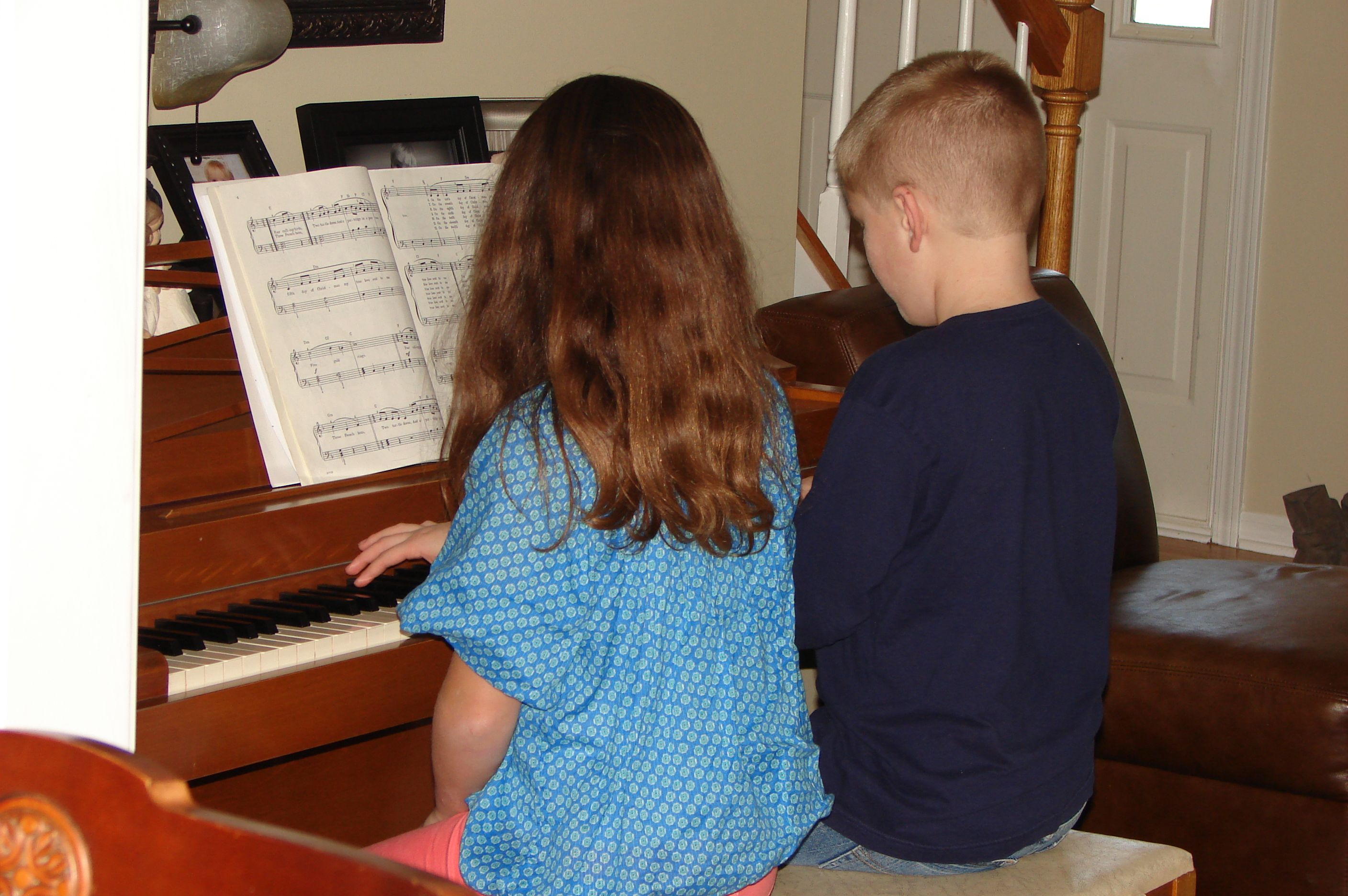 watching your grandchildren play the piano together- Priceless