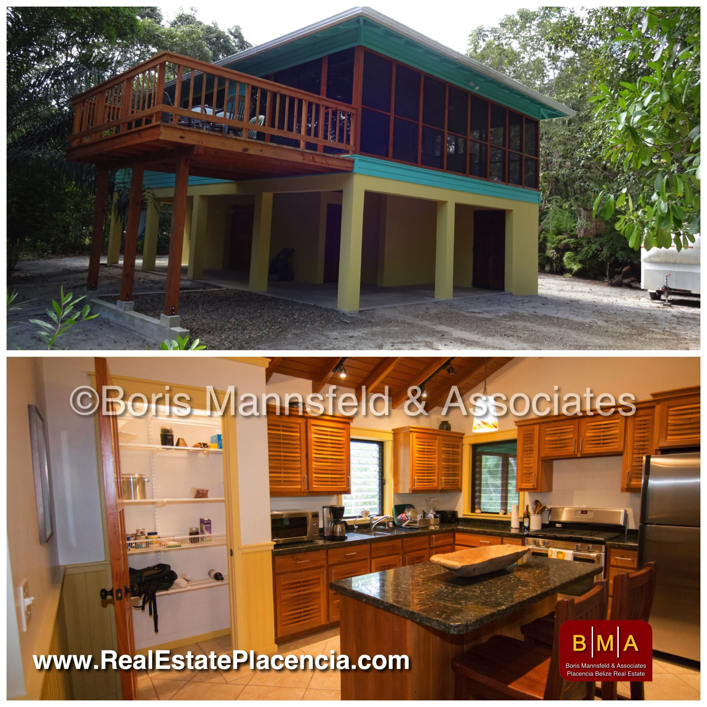 Nh367 Charming House With New Guest Cabin For Sale In Maya Beach Usd 279 000 Charming House Guest Cabin Sale House
